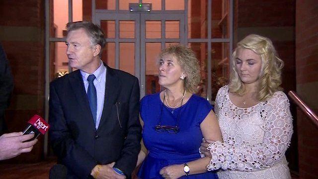 Georgia Williams' family