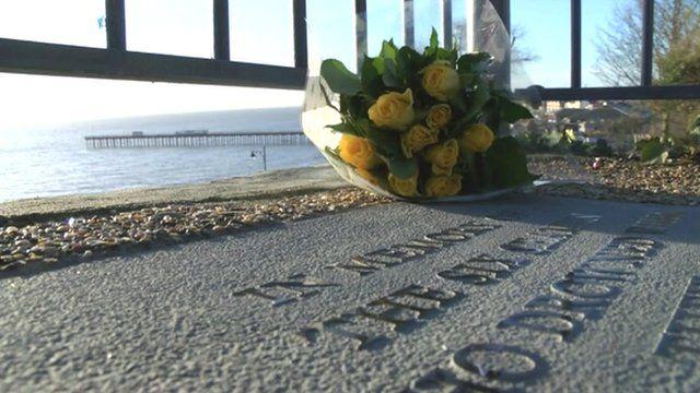 Memorial to European Gateway disaster victims