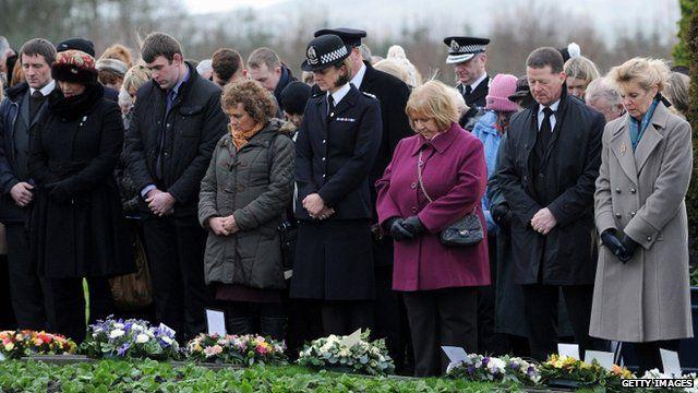 Dryfesdale cemetery, Lockerbie ceremony