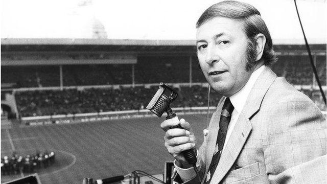 David Coleman, Sports commentaor on BBC TV