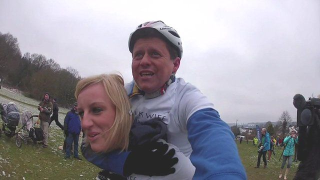 Mike Bushell and Steph McGovern