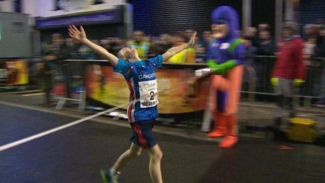 Nos Galan boys' race winner