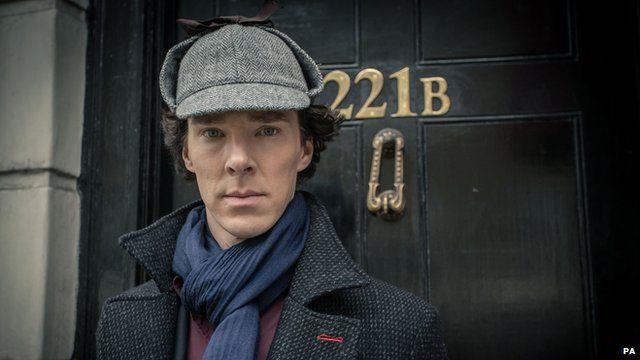 Benedict Cumberbatch as detective Sherlock Holmes