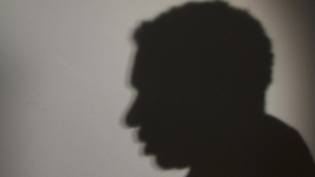 Silhouette of Roger