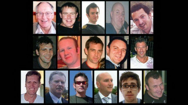 Men who died in the Super Puma crash