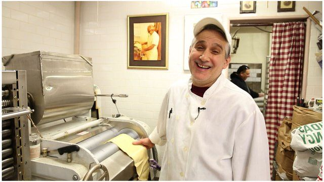 A pasta maker in New York