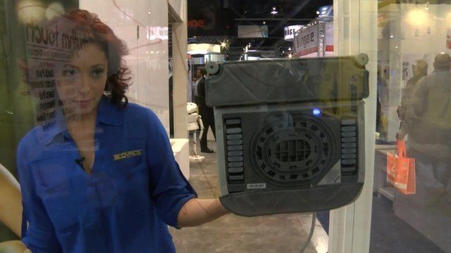 The Ecovacs Winbot
