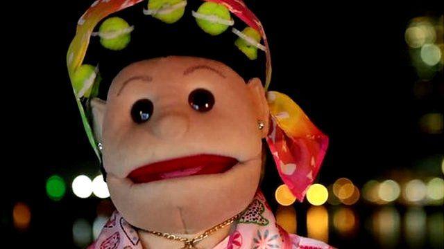 Puppet called Abla Fahita