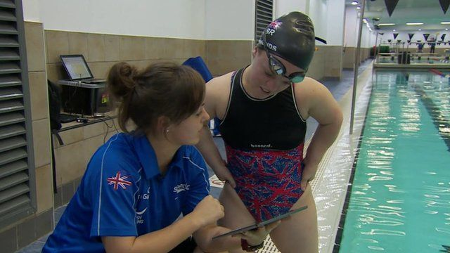 Nicola Rowley (left) and Ellie Simmonds