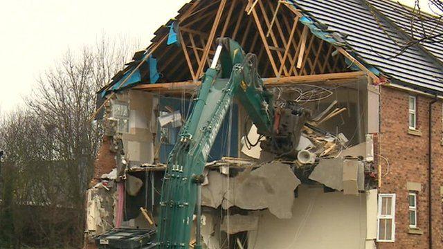 Newburn demolition