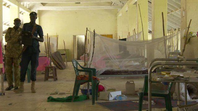 Hospital in Bor