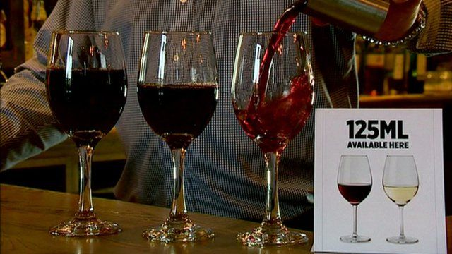 125ml measure of wine