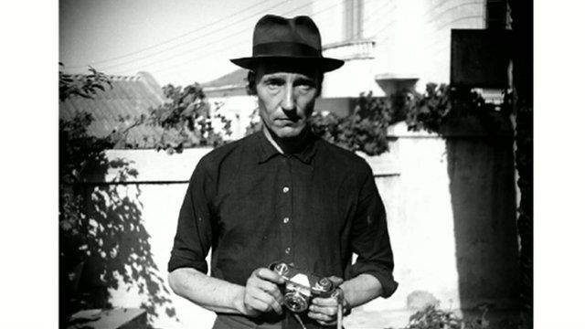 A photograph of William Burroughs