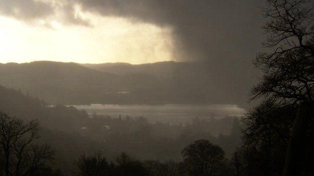 Black cloud over Windermere
