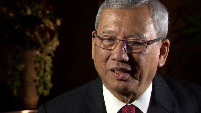 Deputy Prime Minister Niwatthamrong Boonsongpaisan