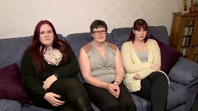 Jerri, Janice and Isobel Peachey