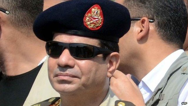 Abdul Fattah al-Sisi - file image