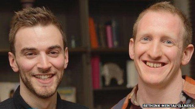 Jonny Benjamin and his good Samaritan, Neil Laybourn,
