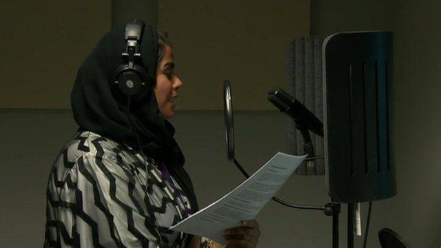 Podcaster Futaim Al Falasi