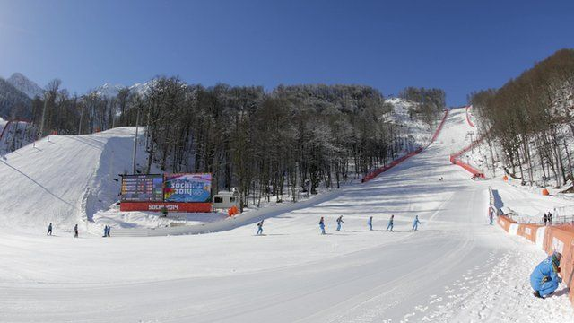 Preparations are underway for the Winter Olympics in Sochi