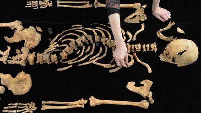 Richard's bones