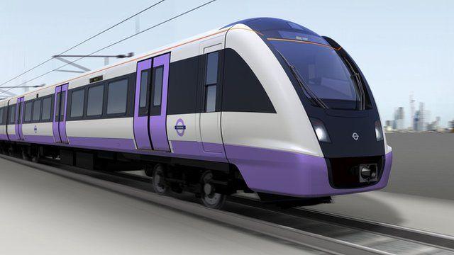 A Bombardier Crossrail train