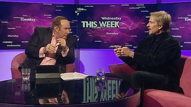 Andrew Neil and Matthew Modine
