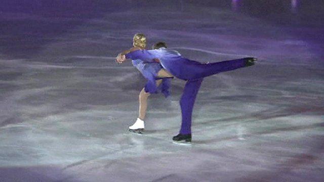 Jayne Torvill and Christopher Dean perform Bolero in Sarajevo in 2014