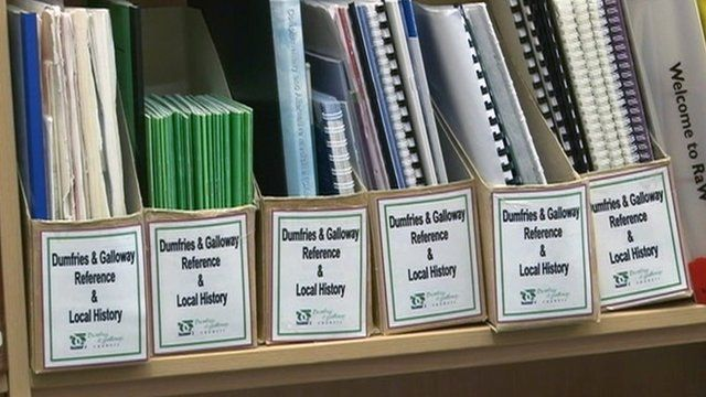 Library reference books