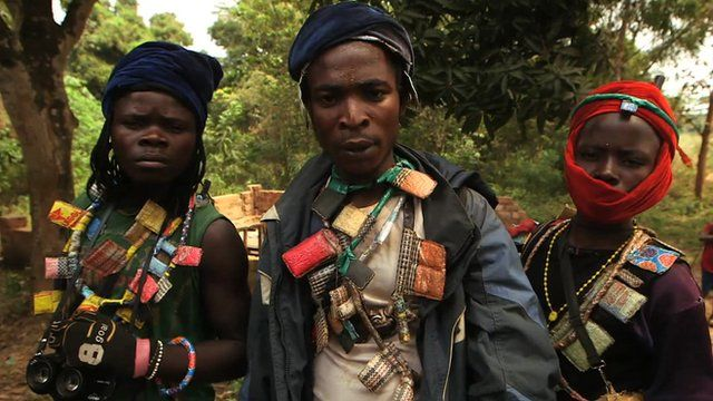 Christian militia in Central African Republic