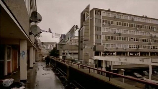 Channel 4 ident featuring the Aylesbury Estate