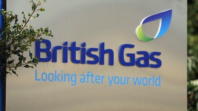 A British Gas sign