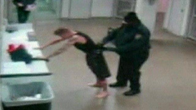 Justin Bieber filmed in Miami police station