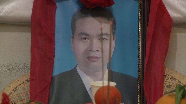 Portrait of murdered doctor
