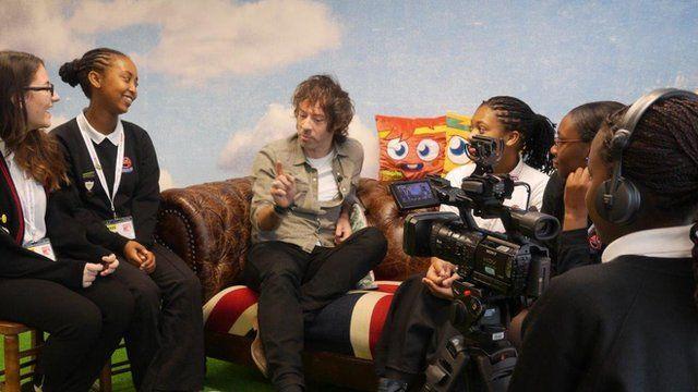 School Reporters interview Michael Smith
