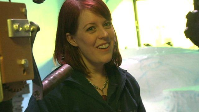 Emma Burdon from The Deep Aquarium