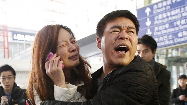 A relative of a passenger onboard Malaysia Airlines flight MH370