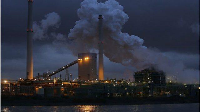 ThyssenKrupp blast furnace in Duisburg, Germany