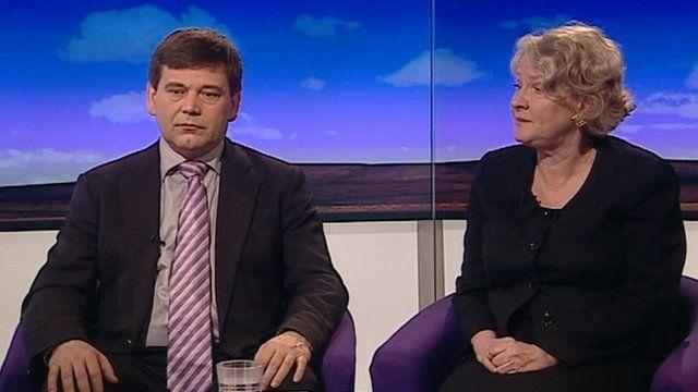 Andrew Bridgen and Helen Goodman