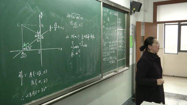 Maths teacher in Shanghai