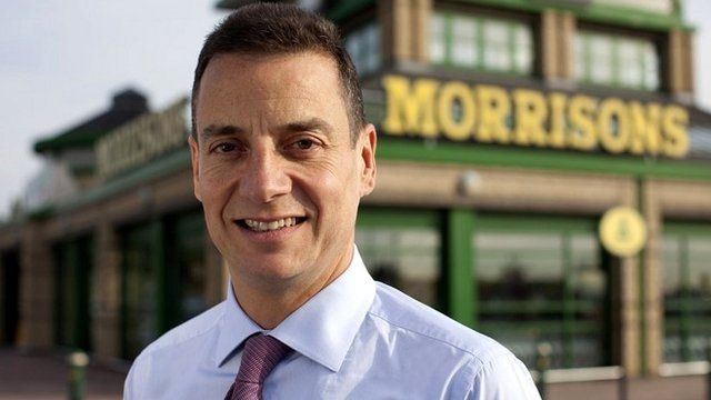Morrisons boss Dalton Philips