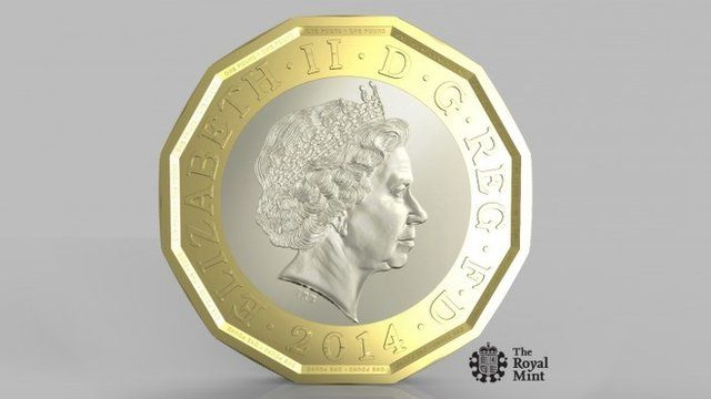 New 1-pound coin