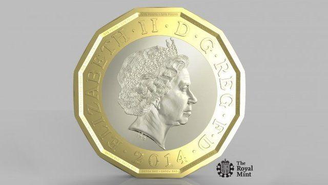 New 1-pound coin