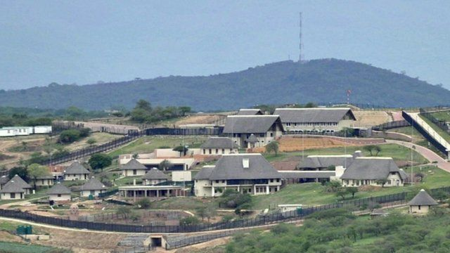 President Zuma's home