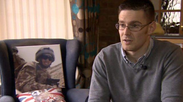 Former soldier Ben Zissman from Walton on Trent