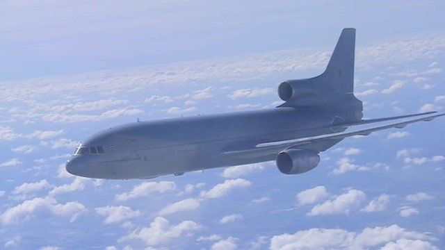 Royal Air Force's Tristar