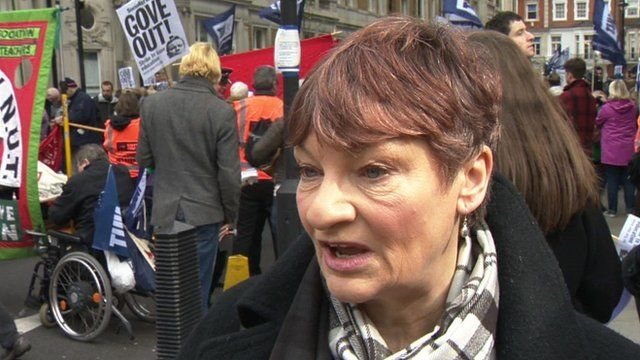 Christine Blower of the National Union of Teachers