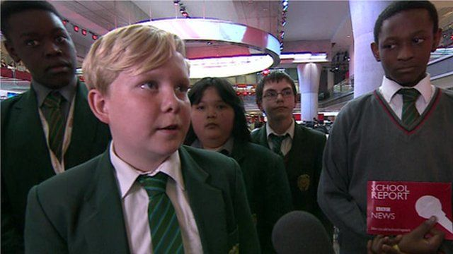 School Reporters focus on Africa
