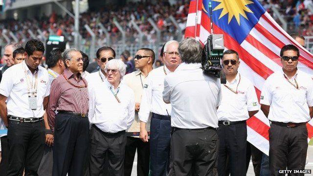 Silence held at Malaysian GP