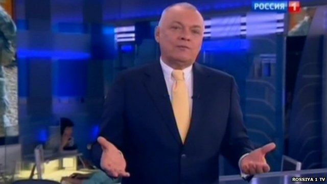 Russian TV presenter Dmitry Kiselev
